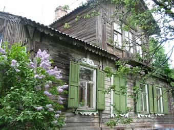 Гатчина. Дом Клодницких. Фото Галины Пунтусовой