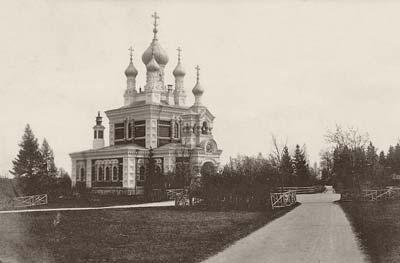 Гатчина. Церковь Покрова Пресвятой Богородицы в Егерской слободе