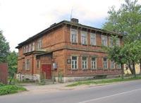 Здание бывшей гимназии Табунщиковой по ул. Чкалова, 32