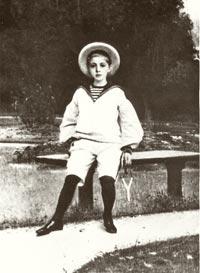Портрет мальчика работы худ. И.Н.Крамского. Сиверская 1883