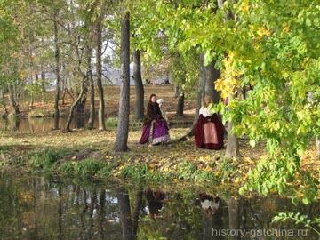Водный лабиринт в Гатчинском парке. Фото Галины Пунтусовой