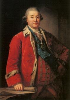 н/х. Портрет князя Г.Г.Орлова. 1780