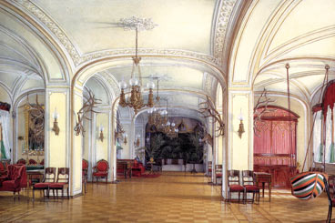 The Gatchina Palace The Arsenal Block Drawing Room The