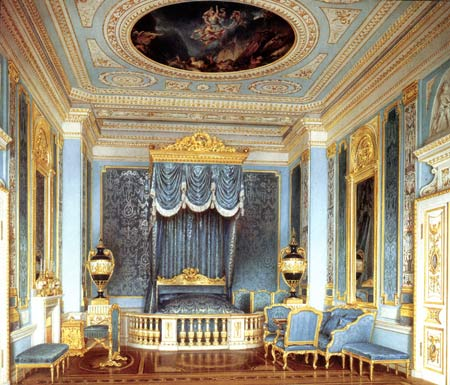 He State Bedroom Designed By V Brenna 1799 Water Colour