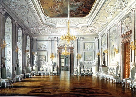 The Gatchina Palace Rinaldi S Communicating Room The