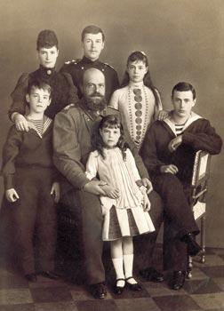 Семья императора. 1888 г. Фотограф С.Л. Левицкий