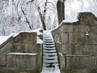 Гатчинский парк. Амфитеатр