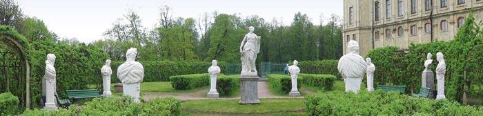 Собственный садик Гатчинского парка