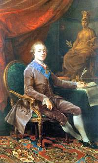 Portrait of Grand Duke Pavel Petrovich - Count Severny