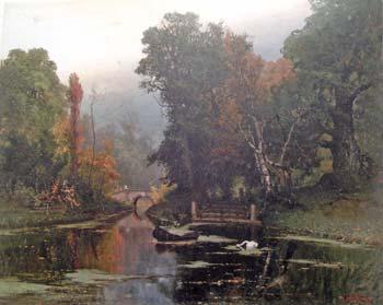 Ю.Ю.Клевер. Запущенный пруд