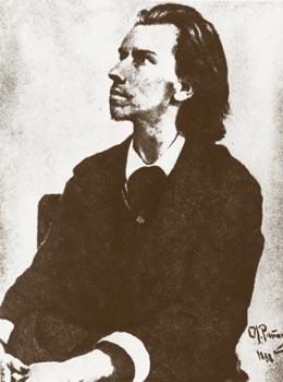 Портрет К.М.Фофанова. Худ.И.Е.Репин
