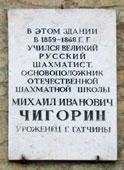 М.И.Чигорин